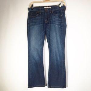 J Brand Murphy Mid Rise Bell Crop Jeans Size 26